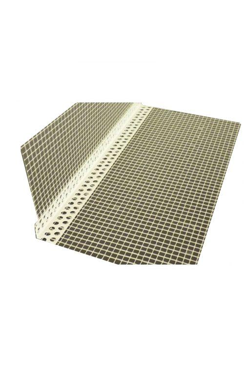 PVC-kotnik z armirano mrežo L (2,5 m, plastičen)