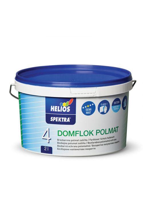 Lak SPEKTRA DOMFLOK  (2 l, polmat, zaščita notranjih stenskih površin, visoko pralen, brezbarven)_2