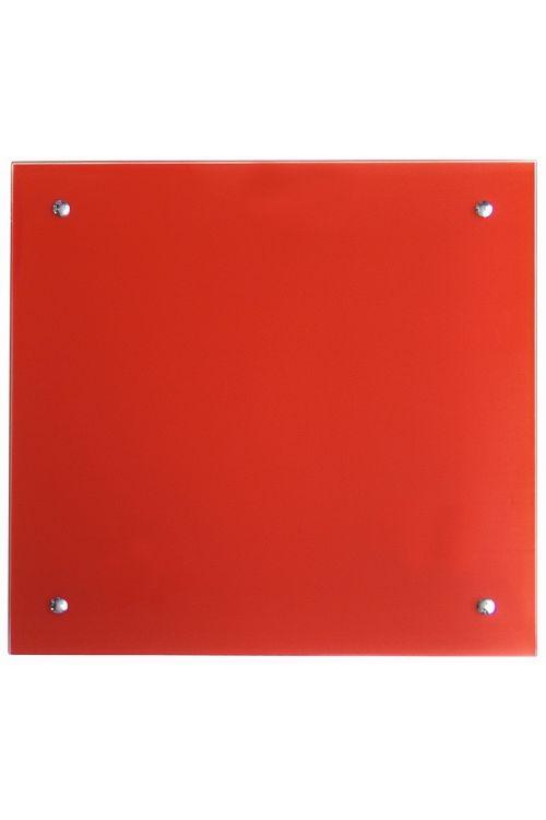 IR stekleni radiator (350 W, 50 x 50 cm, rdeč)