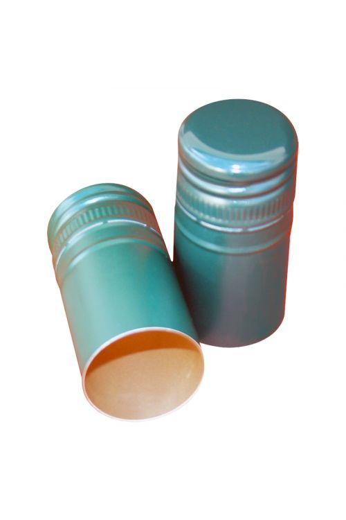 Zamašek z navojem (aluminijast, zelen, 10 kosov)