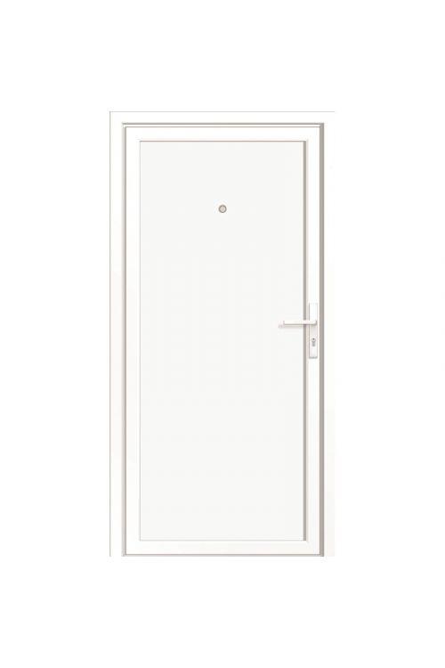 Vhodna vrata Roro BAZ 1100 (2000 x 1000 mm, PVC, bela, leva, 5-točkovno zaklepanje)