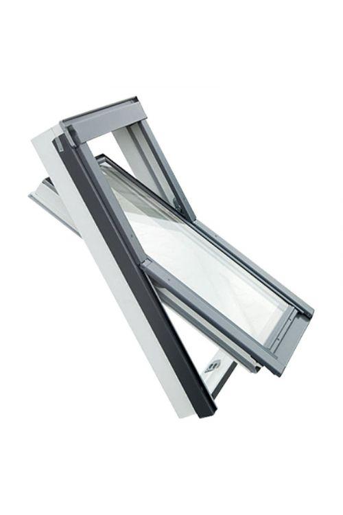 Strešno okno Solid Elements Pro (55 x 98 cm, PVC-okvir)