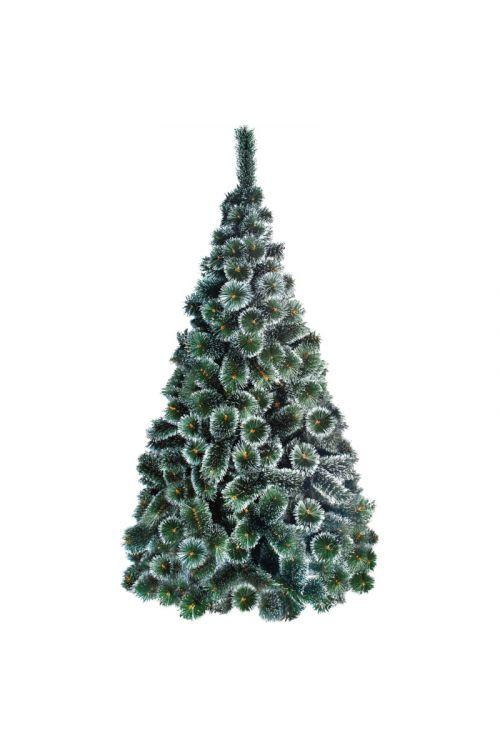 Umetno božično drevo 'White Tops' (PVC, zeleno, z imitacijo zasneženih konic, 120 cm)