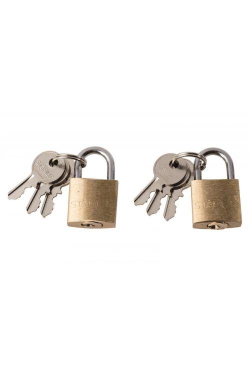 Ključavnica obešanka Stabilit (širina: 20 mm, material zaponke: jeklo, 2 kosa)