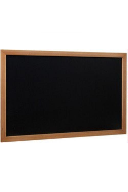 Tabla z lesenim okvirom WOODY (belo kredno pisalo, 40 X 60 X 1.5 cm, velikost: XL)