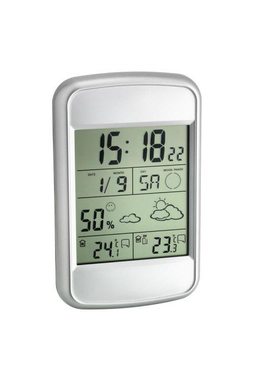 """Digitalna vremenska postaja TFA """"LooK"""" (13,5 cm, srebrna)"""