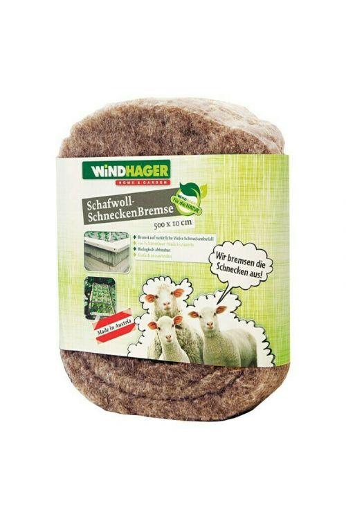 Ovira za polže Windhager ( 500 x 10 cm, ovčja volna)
