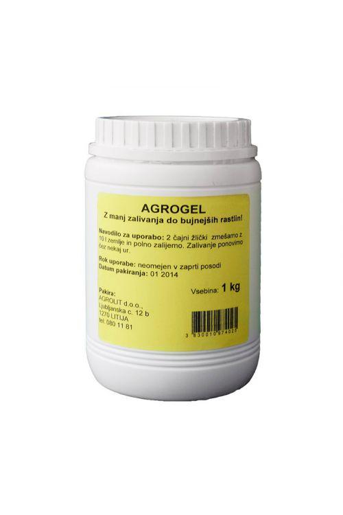 Agrogel (1 kg, absorbcijsko sredstvo proti izsuševanju, 100x nižja potreba po vodi, za poljedeljstvo in cvetličarstvo)