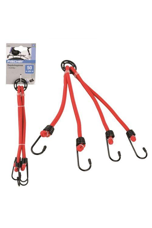 Elastična vrv za spenjanje FISCHER (4 zaponke, 50 cm)