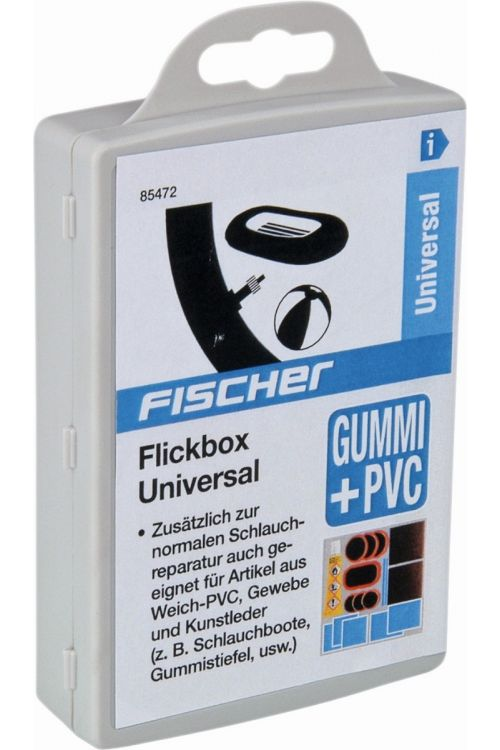 Univerzalni komplet za krpanje Fischer (16-delni, za kolesarske pnevmatike)
