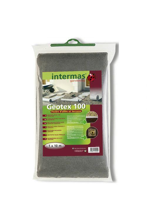 Drenažna koprena Geotex 50 (1,6 x 10 m, 50 g/m², črna)