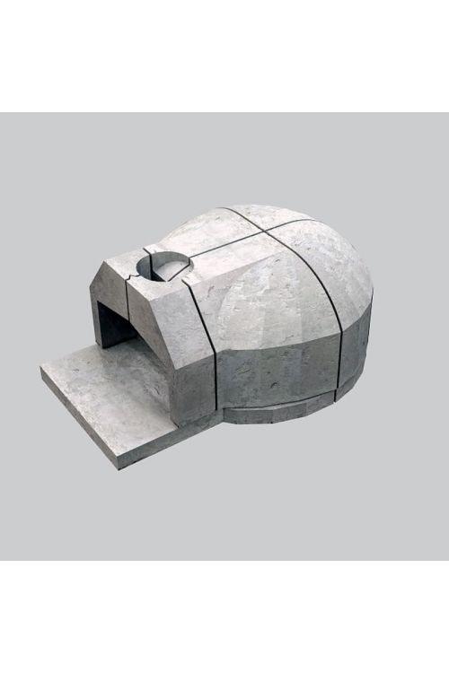 Krušna peč (velikost kurišča: 80 x 75 cm, velikost odprtine: 46 x 24 cm)