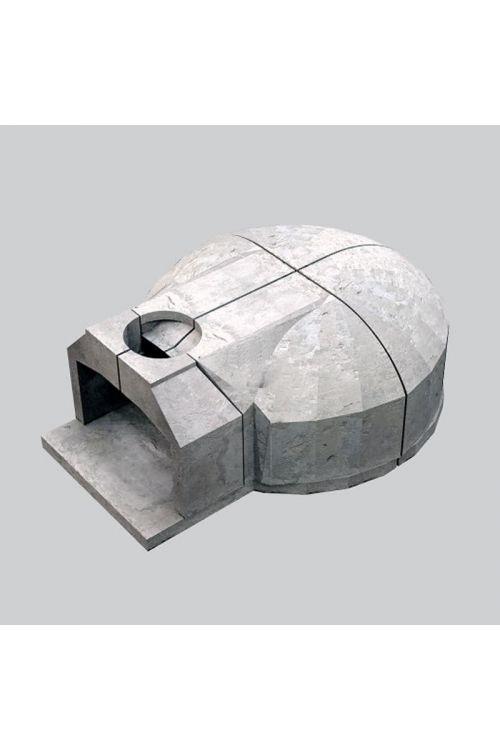 Krušna peč (velikost kurišča: 100 x 100 cm, premer dimnika: 32 cm)