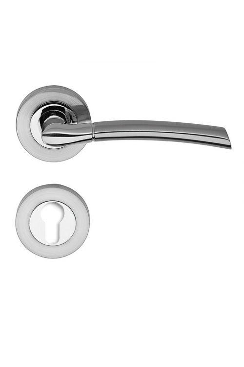 Kljuka za vrata Vovko V-Line Dream (cilinder, nerjavno jeklo, debelina vrat: 35-45 mm)
