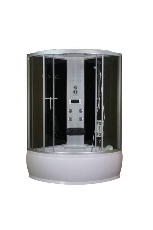Masažna tuš kabina Salsa (120 x 120 x 228 cm, steklo 5 mm)