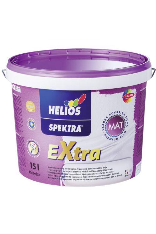 Notranja stenska barva SPEKTRA EXTRA  (15 l, odporna na suho brisanje, visoko pokrivna, bela mat)_2