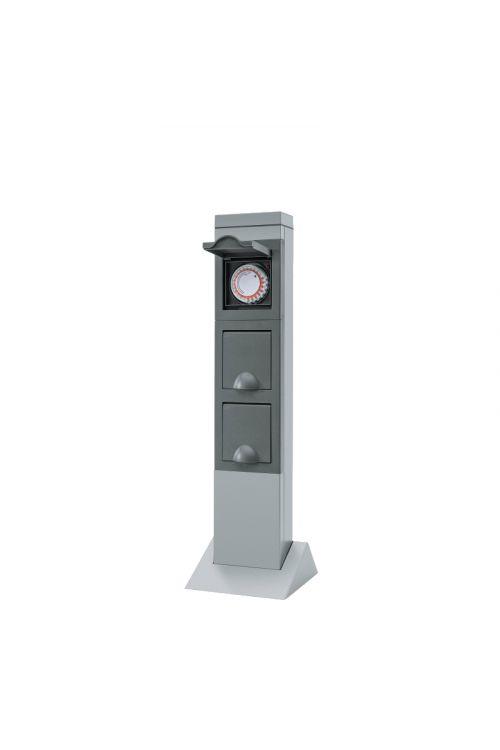 Vrtni stolp REV (230 V, 2 vtičnici, časovnik)
