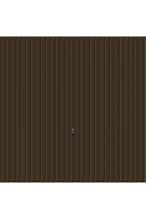 Garažna vrata Hörmann Berry Pearl  (2500 x 2125 mm, dvižna, rjava)
