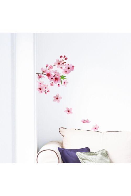 Dekorativna nalepka cvet češnje (2 dela, 31 x 31 cm)