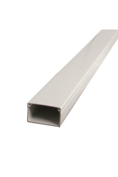 PVC kabelski kanal (2 m, 15 x 30 mm, bel)