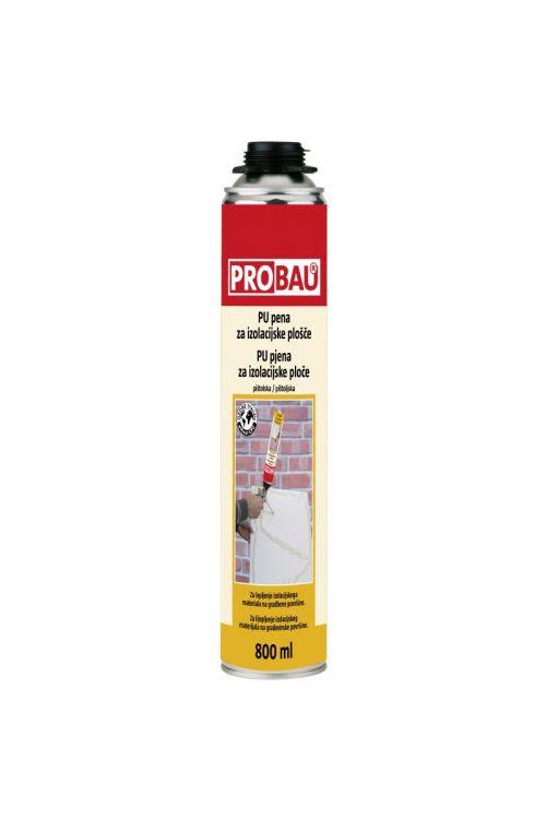 PU pena za lepljenje izolacijskih plošča Probau M800 (800 ml)_2