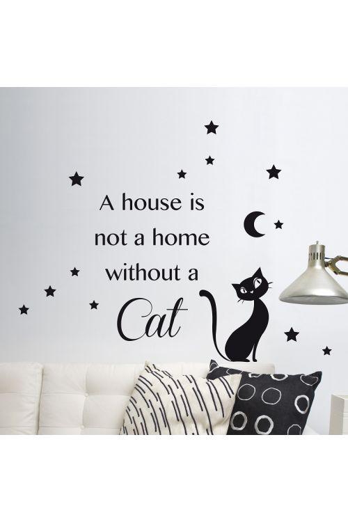 "Dekorativna nalepka ""Cat"" (31cm x 31 cm)"