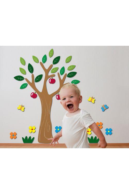 """Dekorativna stenska nalepka """"Apple tree"""" (47 cm x 47 cm)"""