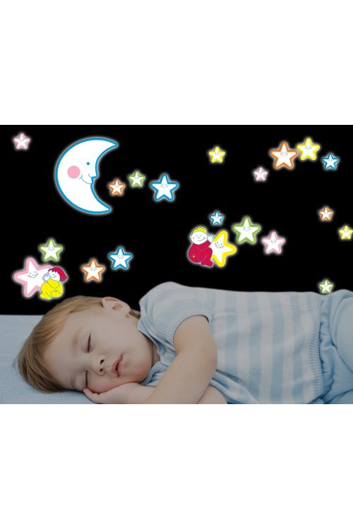 """Dekorativna stenska nalepka """"Smiling stars"""" ( 47 cm x 47 cm)"""