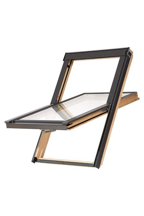 Strešno okno Solid Elements Basic (550 x 780 mm, leseno)