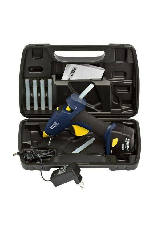 Akumulatorska pištola za vroče lepljenje Rapid BGX 300 (7,4 V, 1 x Li-ion baterija 2,6 Ah, premer vložka: 12 mm)