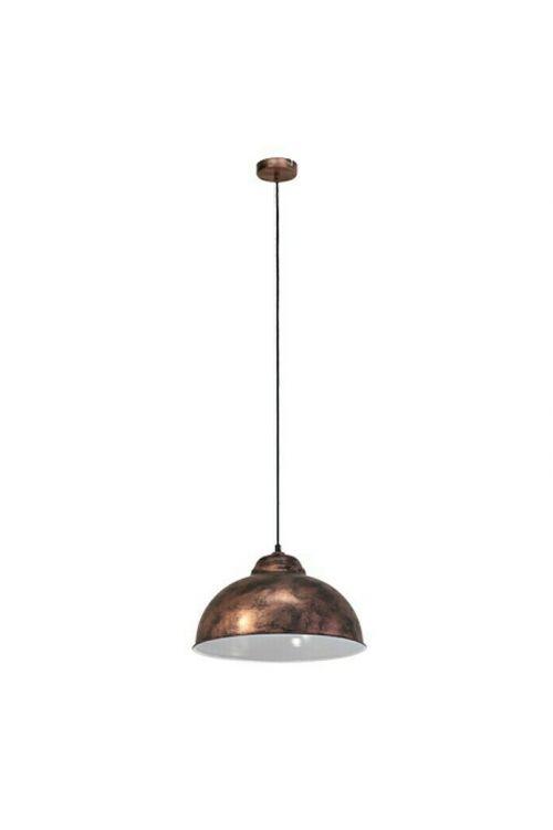 Viseča svetilka Eglo Truro (60 W, E27, višina: 110 cm, premer: 37 cm, bakrena)