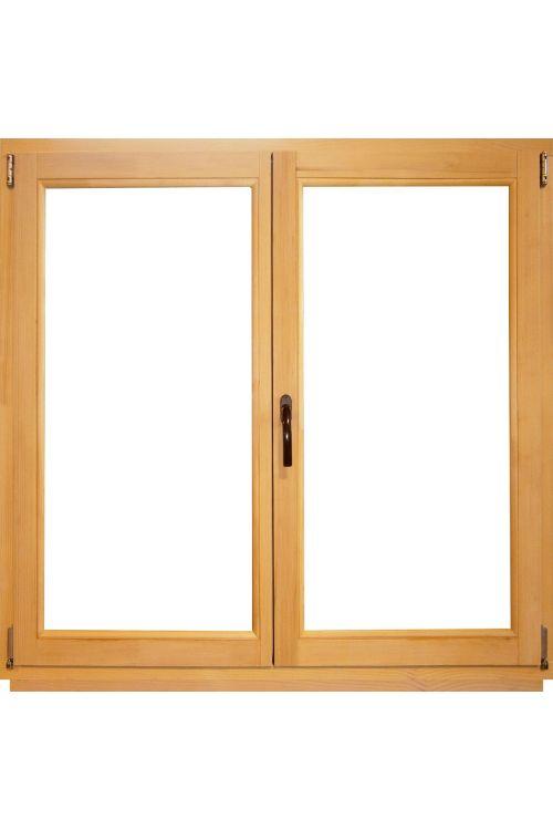 Okno Optimum (1200 x 1200 mm / 2 cm, leseno, desno, brez kljuke)