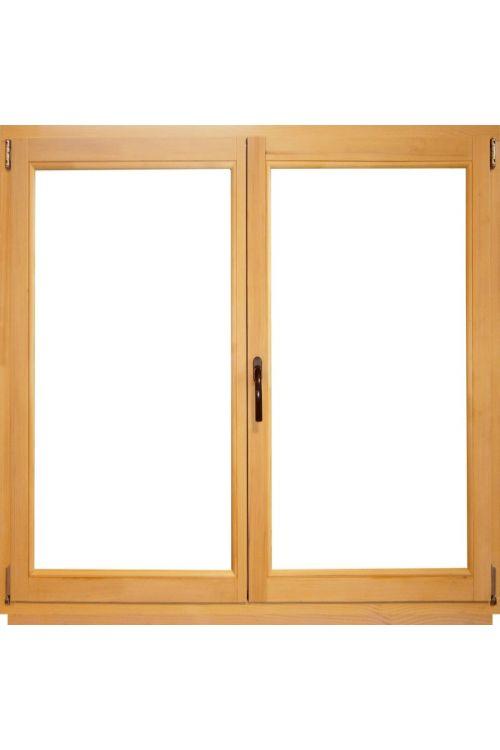 Okno Optimum (1400 x 1200 mm / 2, leseno, desno)