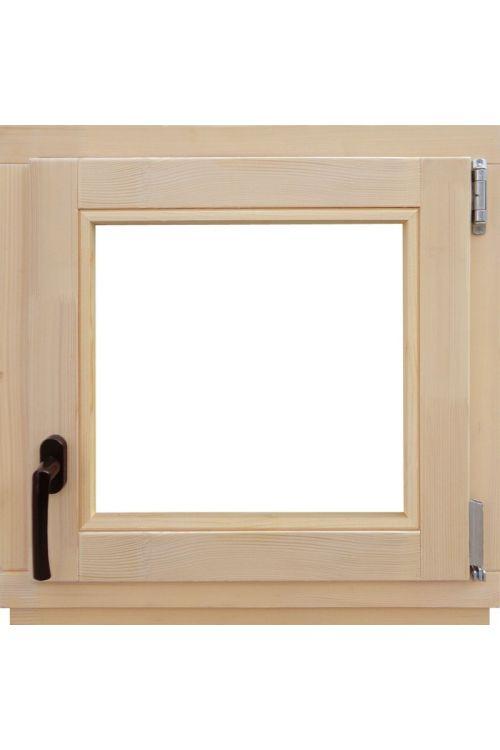 Okno Optimum (600 x 600 mm, leseno, desno)