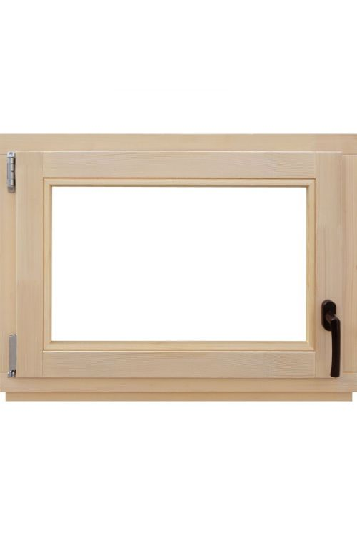 Okno Optimum (800 x 600 mm, leseno, levo)