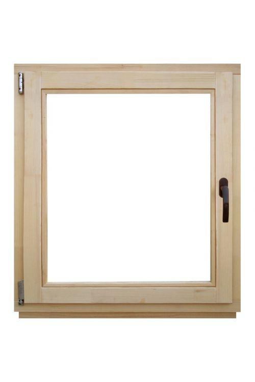 Okno Optimum (800 x 900 mm, leseno, levo)
