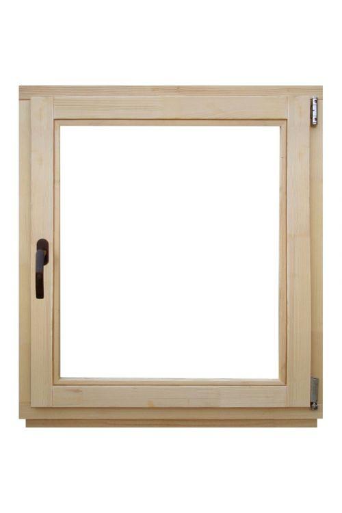 Okno Optimum (800 x 900 mm, leseno, desno)