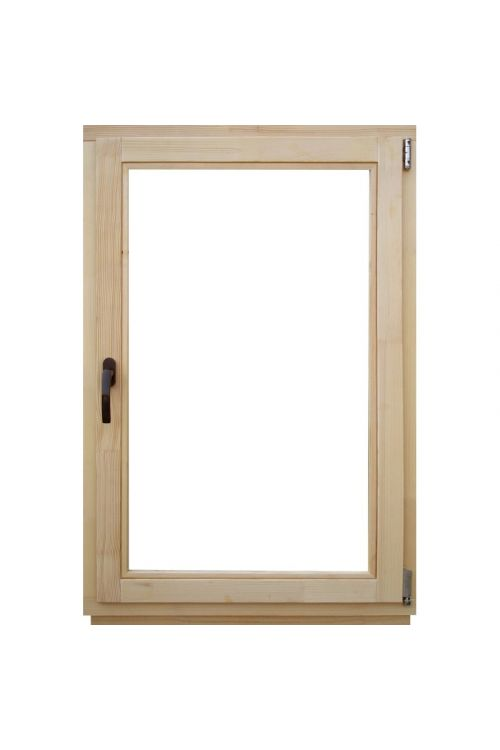 Okno Optimum (800 x 1200 mm, leseno, desno)