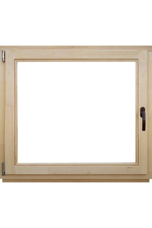 Okno Optimum (1200 x 1200 mm, leseno, levo)