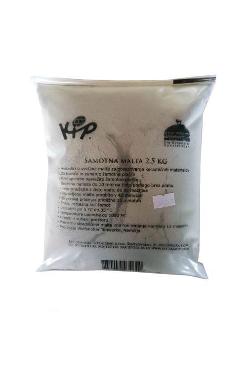 Šamotna malta (2.5 kg)