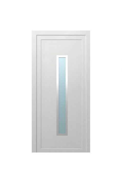 Vhodna vrata Solid Elements Piran (1000 x 2100 mm, PVC, bela, leva, brez kljuke in cilindra)