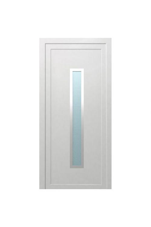 Vhodna vrata Solid Elements Piran (1000 x 2100 mm, PVC, bela, desna, brez kljuke in cilindra)