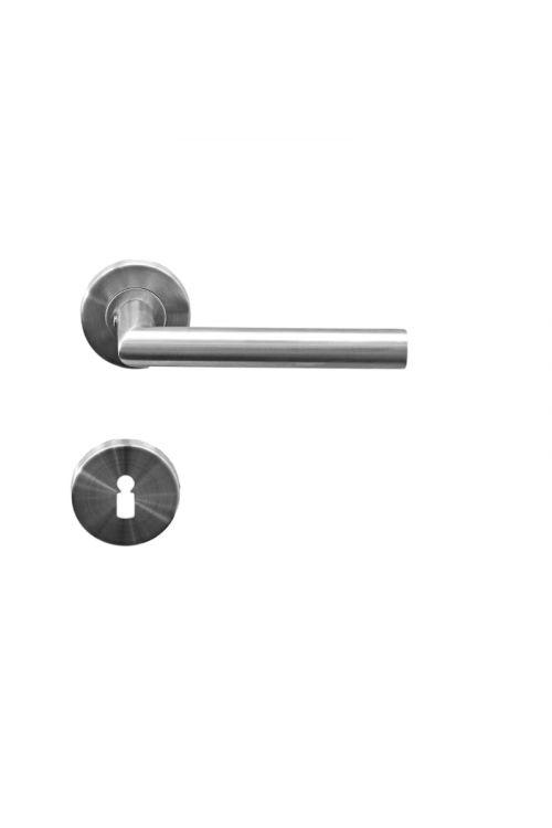 Kljuka za vrata Vovko Roxy (ključ, nerjavno jeklo, maks. debelina vrat: 44 mm)