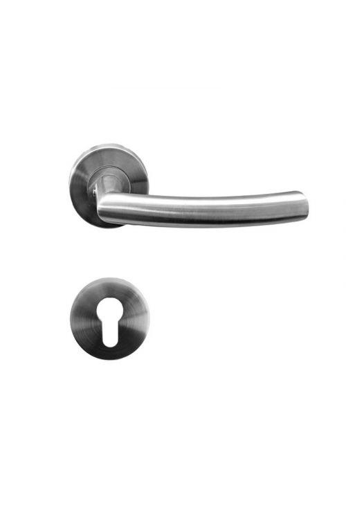 Kljuka za vrata Vovko Susy (cilinder, nerjavno jeklo, maks. debelina vrat 44 mm)