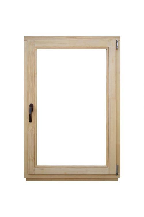Okno Optimum (600 x 900 mm, leseno, desno)