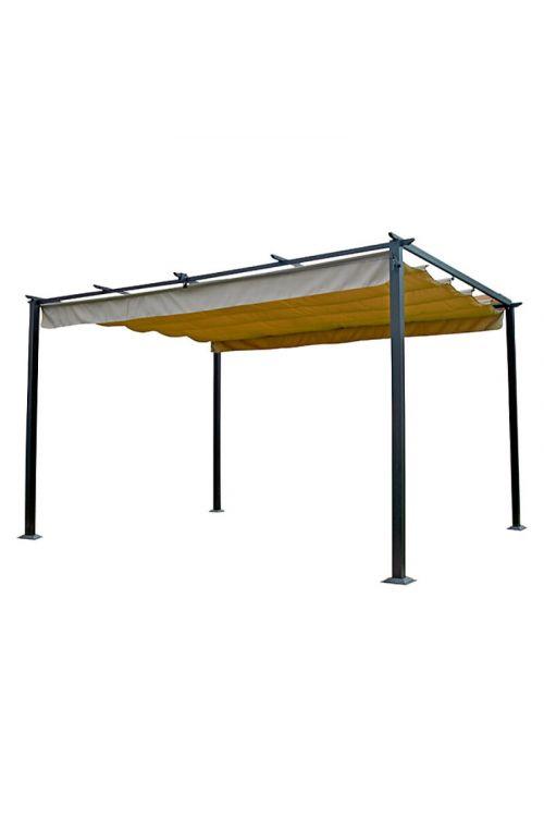 Nadomestna streha za paviljon Jakarta SUNFUN (d 400 x š 300 cm, poliester 260g/m2, UV 50+)