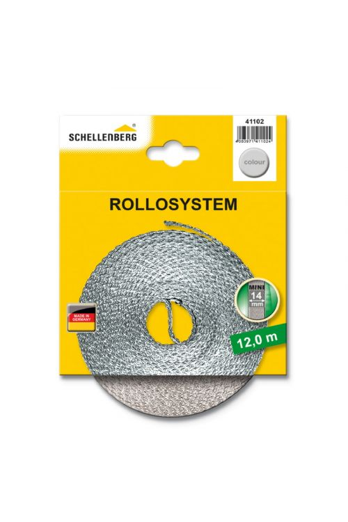 Trak za rolete Schellenberg (dolžina: 12 mm, širina: 14 mm)