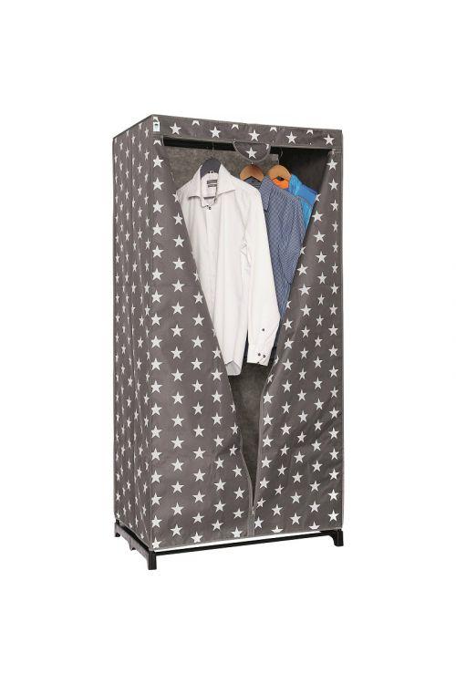 Platnena omara za oblačila (160 x 80 x 50 cm, poliester)