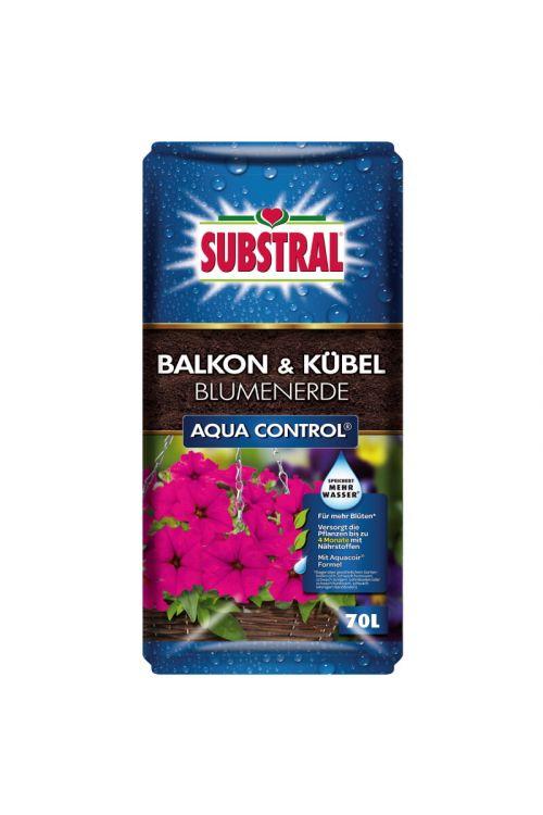 Zemlja za balkonske rastline SUBSTRAL Aqua Control (70 l)