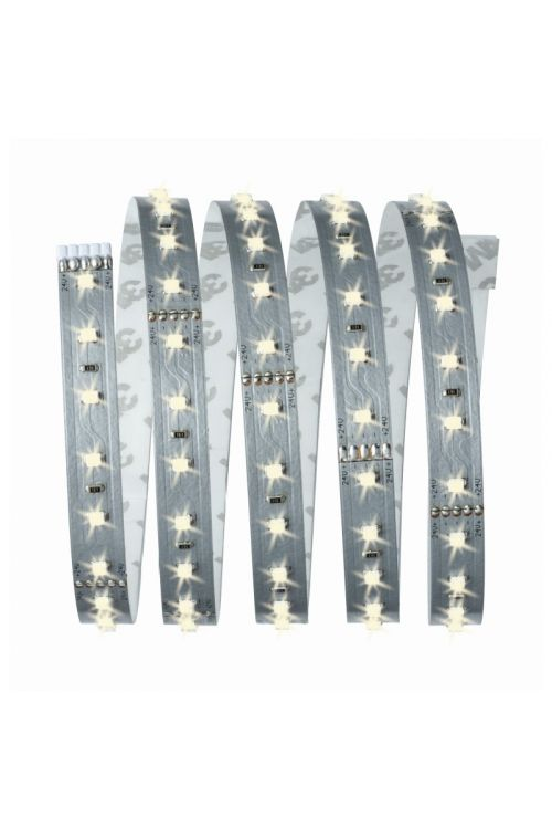 MAXLED OSNOVNI SET (10 W, 825 lm, 2.700 K, 230 V, 1,5 m, nevtralno bela, srebrni)
